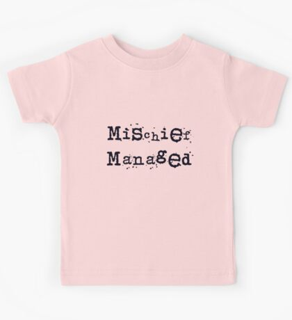 Mischief managed Kids Tee