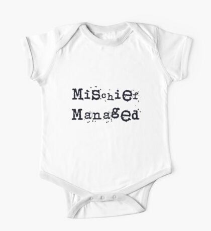 Mischief managed One Piece - Short Sleeve