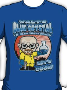 Walt's Blue Crystal T-Shirt
