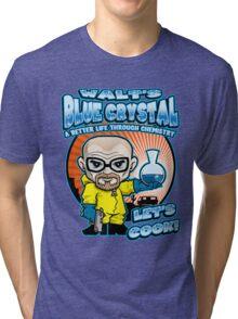 Walt's Blue Crystal Tri-blend T-Shirt
