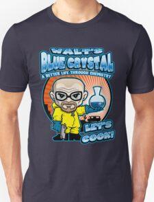 Walt's Blue Crystal Unisex T-Shirt