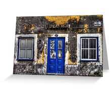 Taberna - Old Building, New Door Greeting Card