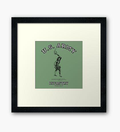 U.S. Army Infantry:   World War IV! Framed Print