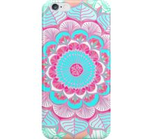 Tropical Doodle Flower iPhone Case/Skin