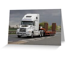 Mighty Volvo Greeting Card