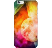 Abstract Full Moon Spectrum iPhone Case/Skin