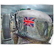 The Brooklands 24 Litre Napier-Railton - Dunsfold 2013 Poster