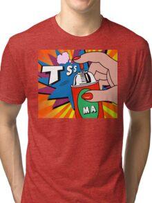 pop art Tri-blend T-Shirt
