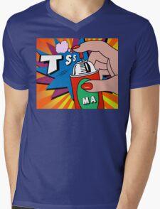 pop art Mens V-Neck T-Shirt