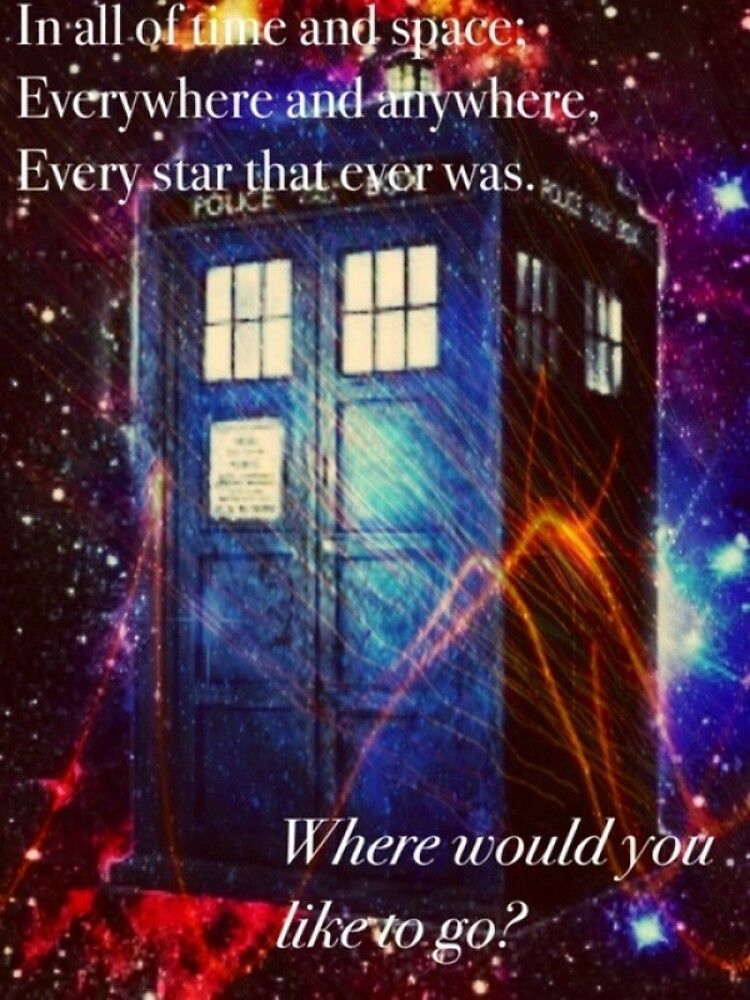 The Galaxy Tardis by TuxedoPenguin
