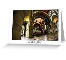 Blackburn Cathedral Christmas card Greeting Card