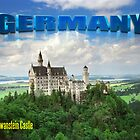 Neuschwanstein Castle Bavaria Germany by leksele
