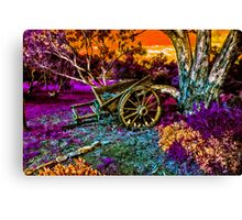 Once Upon A Cart Canvas Print