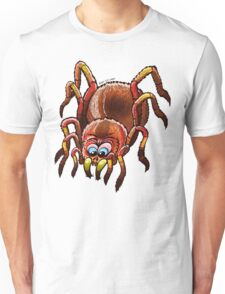 Tarantula Sinking its Fangs into Fresh Flesh Unisex T-Shirt