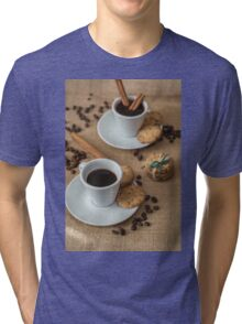 Homemade cookies , coffee and cinnemon Tri-blend T-Shirt