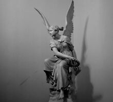 angel in the Hermitage, Russia by Margaret  Shark
