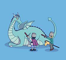 Dragon Slayers by Denisse Soneja