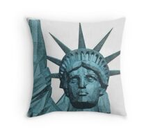 Liberty by Pierre Blanchard Throw Pillow