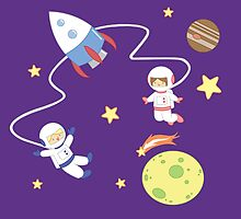 Space Explorers by Denisse Soneja