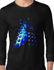 Dalek Gamma – Blue Long Sleeve T-Shirt