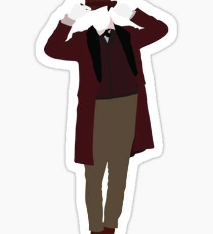 The Eleventh Doctor - Doctor Who - Matt Smith (Xmas) Sticker