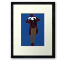 The Eleventh Doctor - Doctor Who - Matt Smith (Xmas) Framed Print