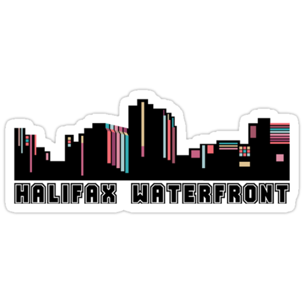Halifax Waterfront T-shirt by Caites