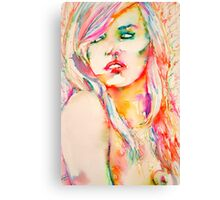 COLORED GIRL 1 Canvas Print