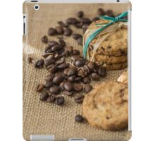Homemade cookies and coffee beans iPad Case/Skin