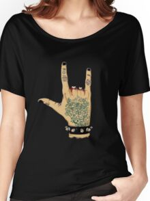 rocknroll Women's Relaxed Fit T-Shirt