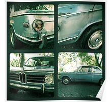 Vintage BMW Collage Poster