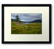 Glen Finglas Reservoir in the autumn Framed Print