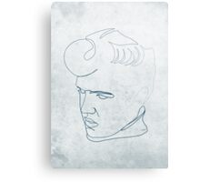 Elvis Presley one-line drawing Canvas Print