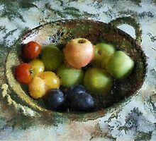 Bowl of Fruit by Kenneth Hoffman