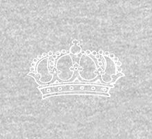 Royal crown Womens Fitted T-Shirt