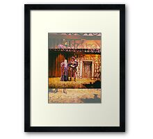 Isle of the Hermaphrodites, NYC, NY Framed Print
