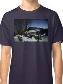 Speedboat In the Snow Classic T-Shirt