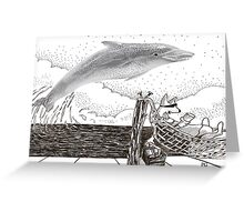 Bogga Bill Dolphin Greeting Card