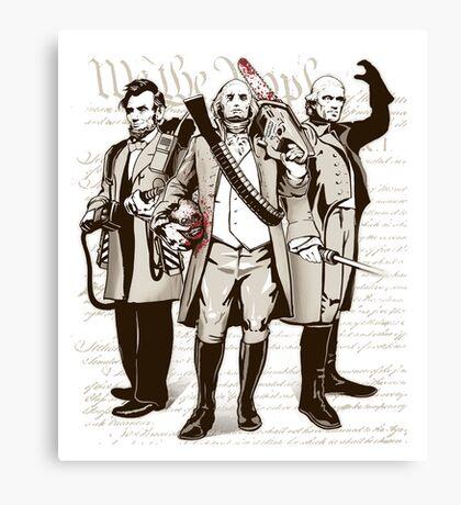 President Kick Asses Canvas Print
