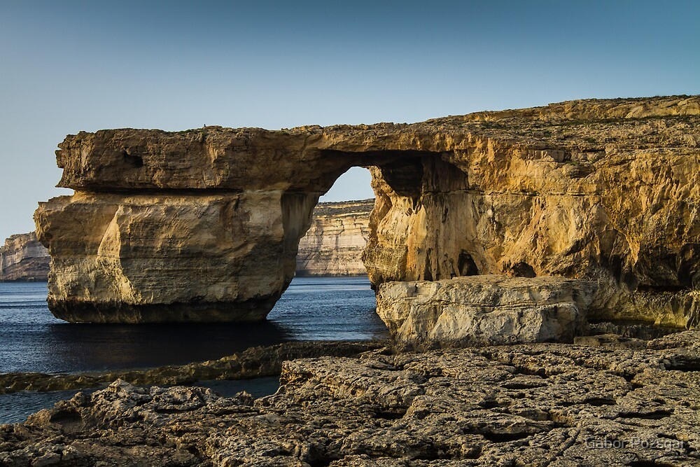 The Azure Window, Malta by Gabor Pozsgai