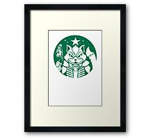 McCloud Coffee Framed Print