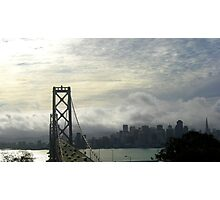 The Bay Bridge and The City Photographic Print