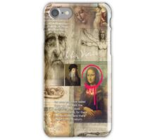 leonardo da vinci iPhone Case/Skin