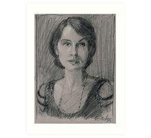 "Lady Mary Josephine Crawley ""Downton Abbey"" Art Print"