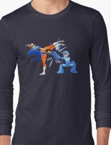 Parry Those Kicks! Long Sleeve T-Shirt
