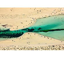 Tropical Crete, exotic Balos Photographic Print