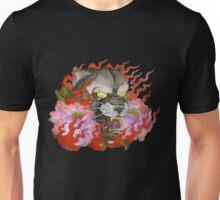 Flaming Panther Unisex T-Shirt