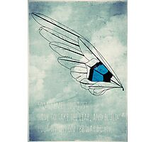 Build Your Wings Photographic Print