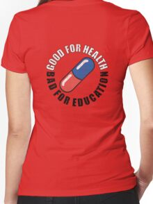Capsule Gang Women's Fitted V-Neck T-Shirt