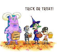 Trick Or Treat by Skulldixon